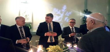 Noworoczne spotkanie BCC z prezydentem Bielska-Białej Jarosławem Klimaszewskim