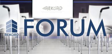 Forum Rekord ERP w obiektywie kamery